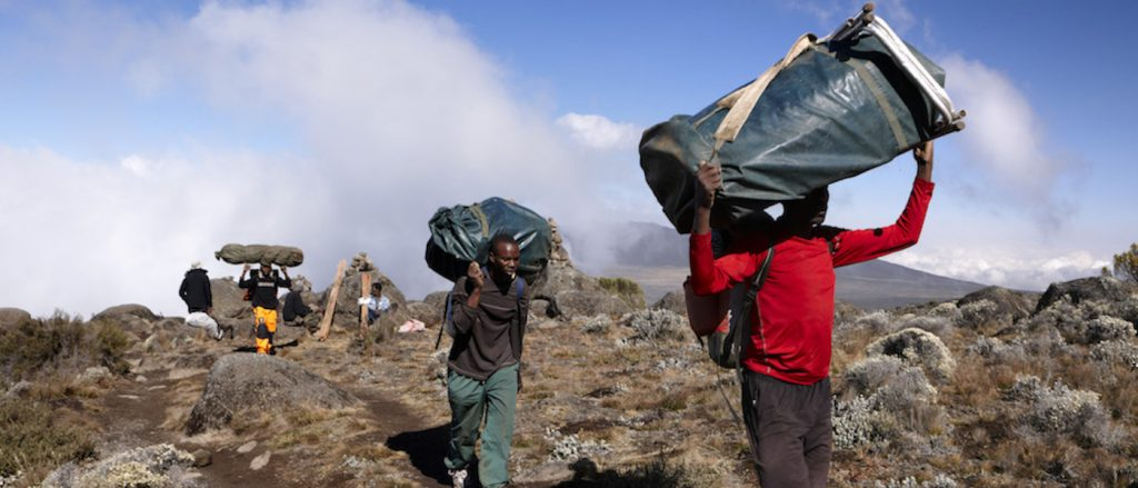 porters carrying bags