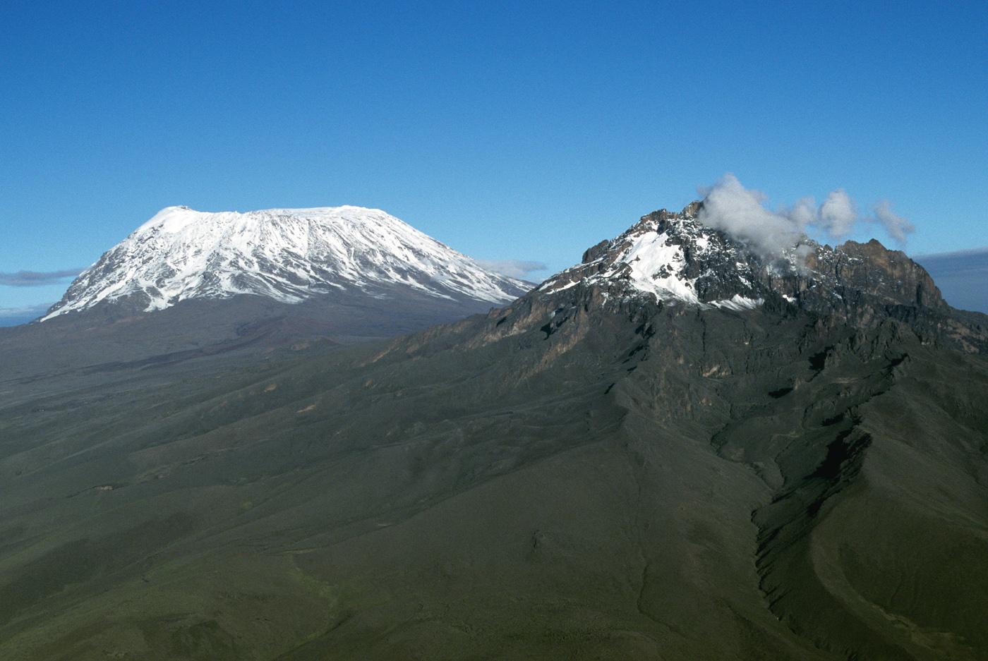 scenic photo of Kilimanjaro